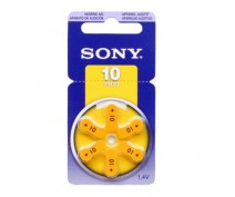 Sony hearingaid battery pr70, za10