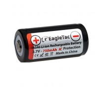 EAGLETAC 16340 LI-ION PROTECTED 750Mah