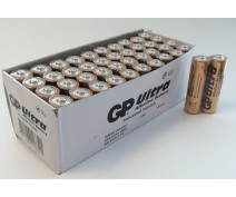 40 PCS GP AA,LR06 ULTRA ALKALINE INDUSTRIAL