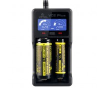 XTAR VC2 PLUS MASTER CHARGER Li-Ion, Ni-MH, Ni-CD