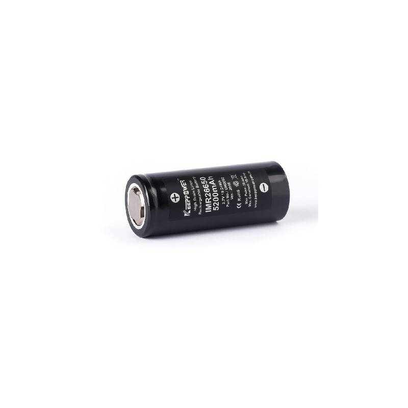 KEEPPOWER 26650 5200Mah unprotected