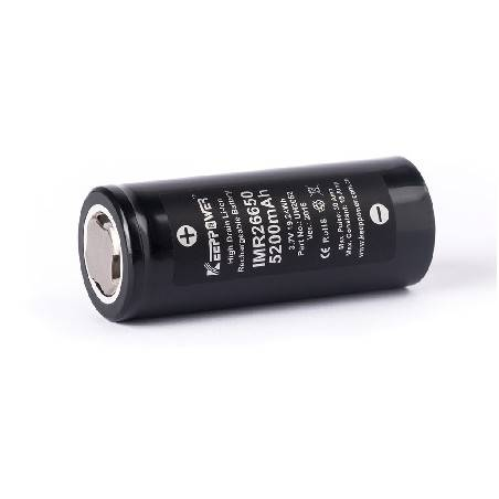 KEEPPOWER 26650 UNPROTECTED 5200Mah