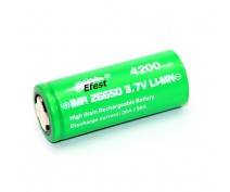 EFEST IMR26650 UNPROTECTED 4200Mah