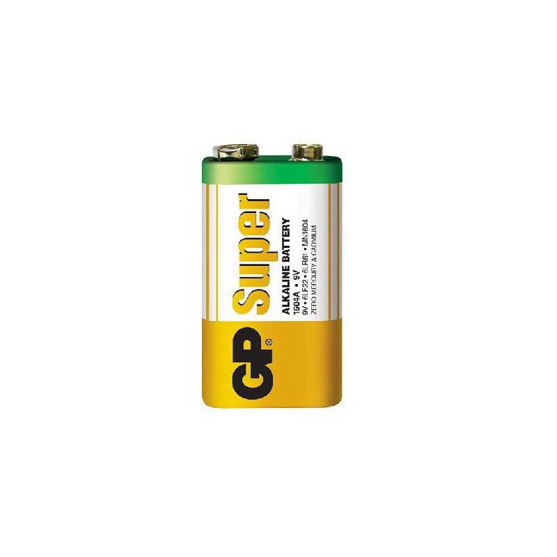 GP 1604AS 6LR61 SUPER ALKALINE