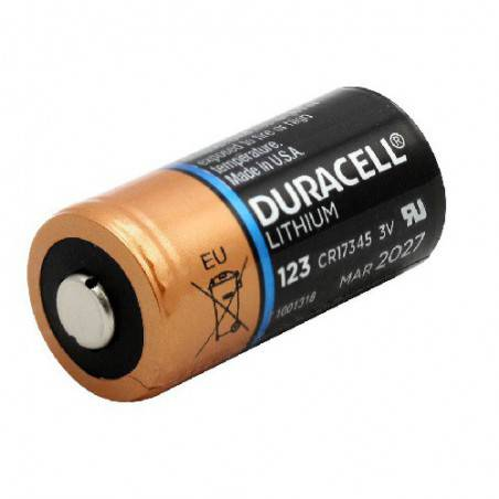 POWERDEAL 12 X DURACELL CR123 LITHIUM