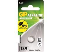 KNOOPCEL ALKALINE GP 189A,LR54,LR1130