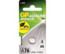 KNOOPCEL ALKALINE GP A76 LR44 L1154