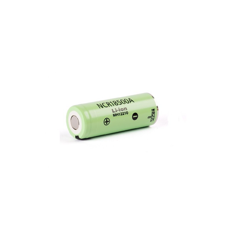 PANASONIC NCR18500A UNPROTECTED FLAT TOP 2000Mah
