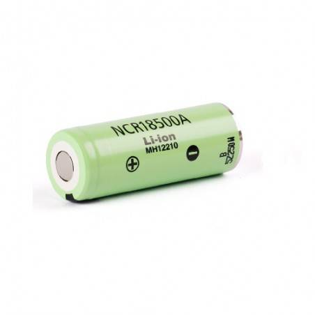PANASONIC NCR18500A UNPROTECTED FLAT TOP 2040Mah