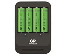 GP PB570 charger incl. 4 x AA 2600 ReCyko+