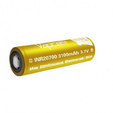 VAPCELL INR20700 UNPROTECTED 3100Mah