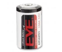 EVE ER14250 1/2AA 3,6VOLT met soldeerlip (Utag)