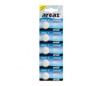 5 PCS BUTTONCELL LITHIUM ARCAS CR2032