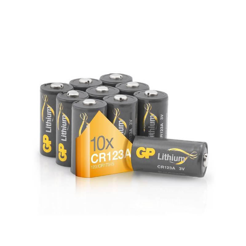 POWERDEAL 10X GP CR123A LITHIUM BATTERY 3VOLT