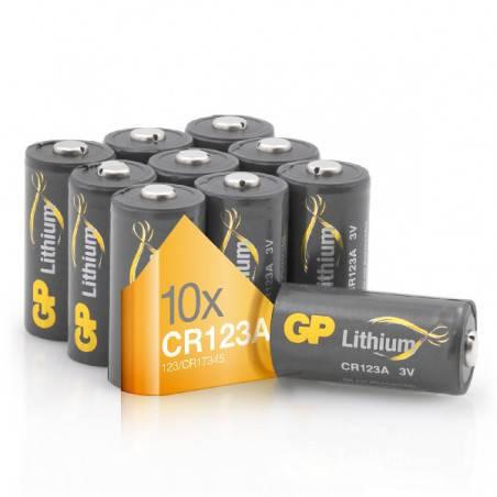 POWERDEAL 10 X GP CR123A LITHIUM BATTERY