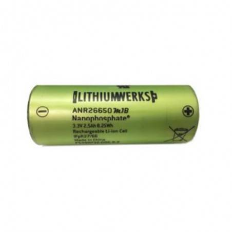 LITHIUM WERKS ANR26650M1B UNPROTECTED 2500Mah