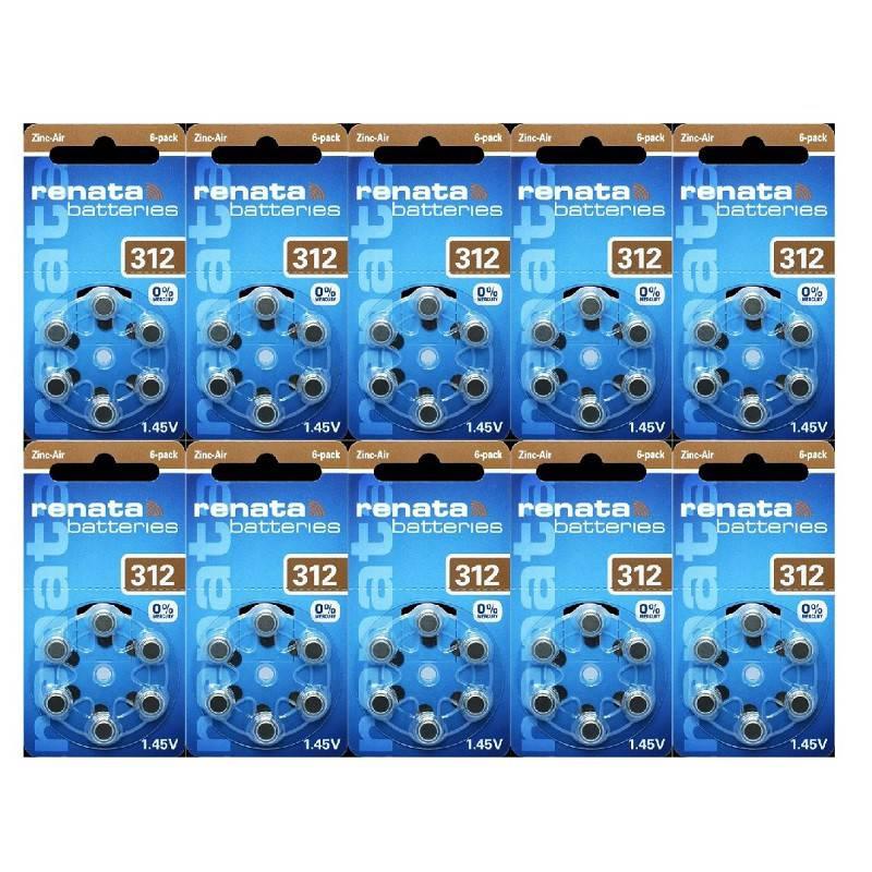 POWERDEAL 60 PCS RENATA ZA312, PR41