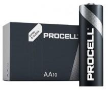 10 STUKS DURACELL PROCELL LR06, AA ALKALINE