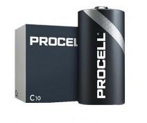 10 PCS DURACELL PROCELL MN1400, LR14, C ALKALINE