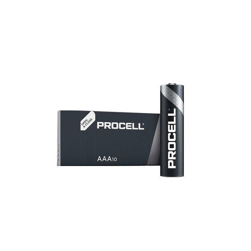 10 PCS DURACELL PROCELL MN2400, LR03, AAA ALKALINE