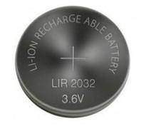 LIR2032 OPLAADBARE LI-ION KNOOPCEL 3.6V