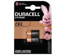 2 PCS DURACELL DLCR2 ULTRA LITHIUM BATTERY
