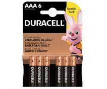 8 PCS DURACELL MN2400, LR03, AAA ALKALINE
