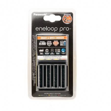 ENELOOP BQ-CC55E LADER + 4xAA ENELOOP Pro 2500mAh