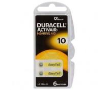 DURACELL ACTIVAIR HEARING AID 10, PR70