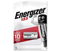 ENERGIZER CR123A LITHIUM POWER BATTERIJ