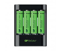GP POWERBANK U421 INCLUDING 4 x AA 2700 RECYKO+