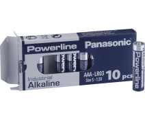 10 PIECES AA PANASONIC POWERLINE INDUSTRIAL LR06AD