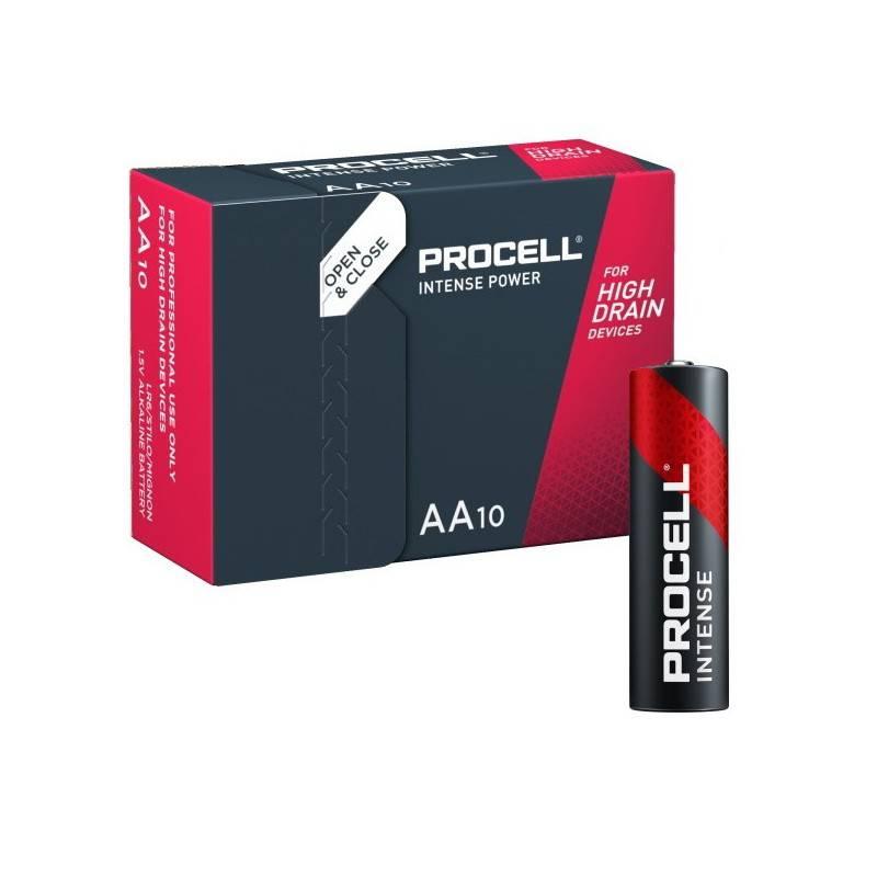 10 PIECES PROCELL INDUSTRIAL LR06, MN1500, AA ALKALINE