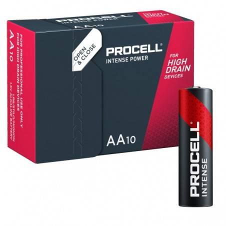 10 STUKS PROCELL INTENSE LR06, MN1500, AA ALKALINE