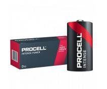 10 PIECES PROCELL INDUSTRIAL LR20, MN1300, D ALKALINE