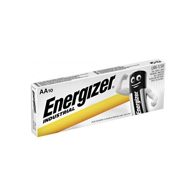 10 PIECES ENERGIZER AA INDUSTRIAL EN91, LR6