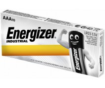 10 PIECES ENERGIZER AAA INDUSTRIAL EN92, LR03