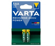 2 PIECES VARTA RECHARGEABLE 1000AAA