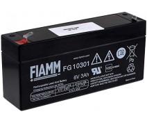 FIAMM FG10301 6VOLT 3Ah STANDARD