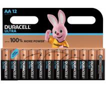 12 PCS DURACELL ULTRA POWER AA, LR06