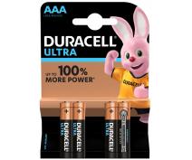 4 PCS DURACELL ULTRA POWER AAA, LR03