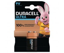 DURACELL MX1604, 6LR61, 9V. ULTRA ALK.