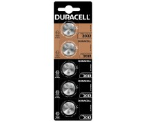 5  PCS BUTTONCELL LITHIUM DURACELL CR2032