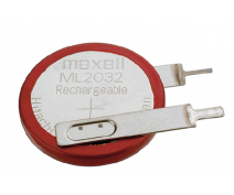 MAXELL ML2032 RECHARGEABLE BUTTONCELL 3 VOLT
