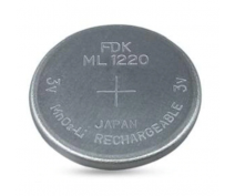 FDK ML1220 RECHARGEABLE BUTTON CELL 3 VOLT