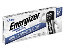 10 PCS ENERGIZER L92 ULTIMATE LITHIUM AAA