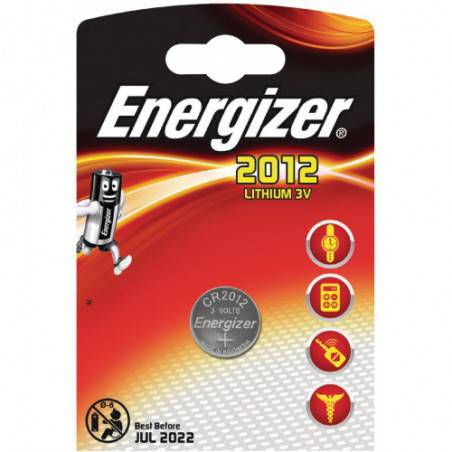 BUTTONCELL LITHIUM ENERGIZER 2012 3V