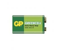 GP 1604GRN, 6F22, 9V. ZINC-CHLORIDE