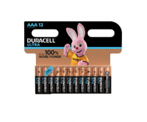 12 PIECES DURACELL ULTRA POWER AAA, LR03