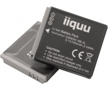 iiquu accu voor Canon NB-4L